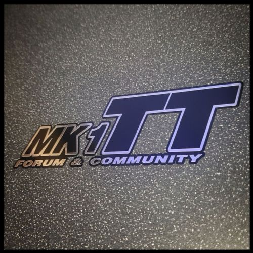 """OFFICIAL"" MK1 TT FORUM & COMMUNITY - LIMITED EDITION CHROME ON BLACK"